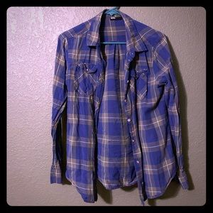 Urban Outfitters BDG plaid button up